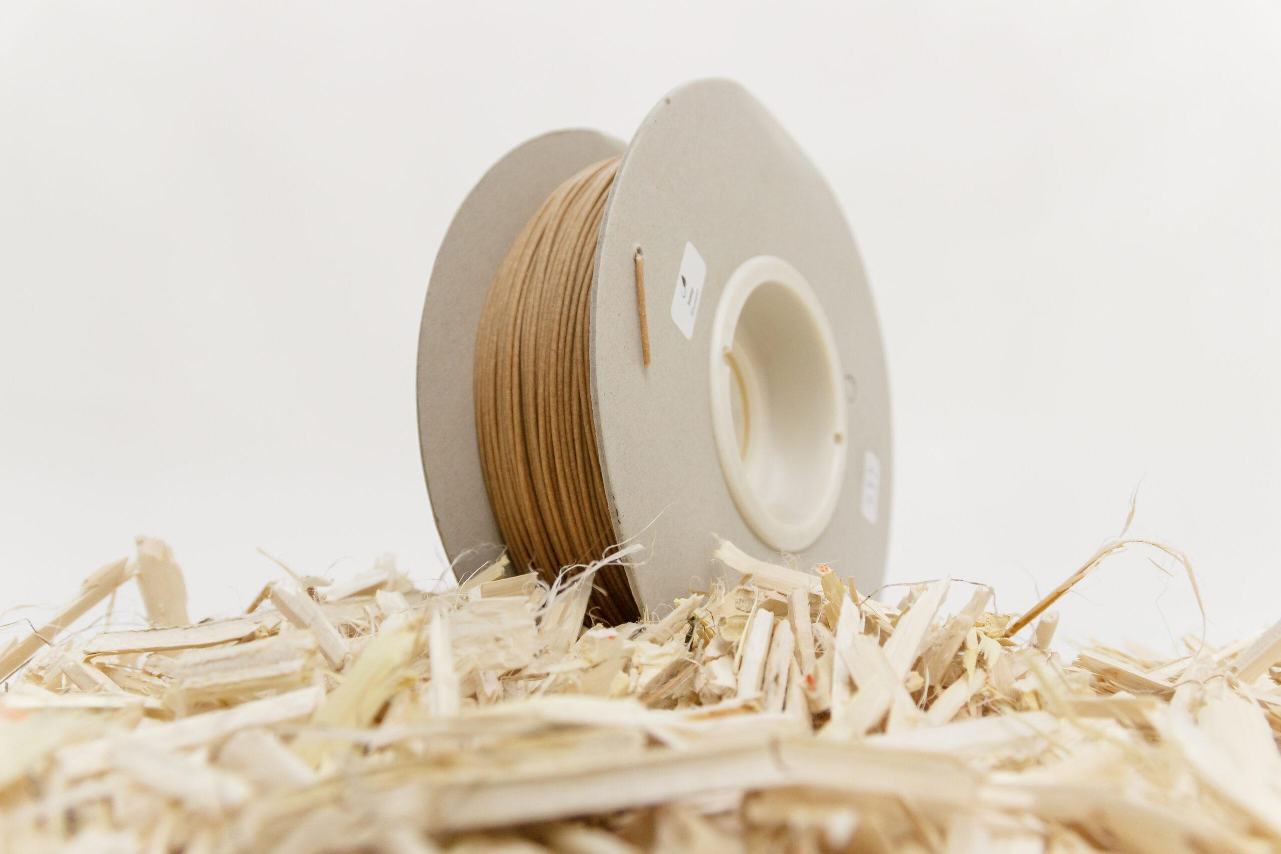 I sottoprodotti agricoli diventano filamenti per la stampa 3D